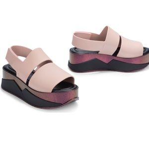 Melissa + CZO Pink Platform size 7